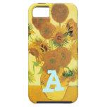 Girasoles de Vincent van Gogh iPhone 5 Carcasa