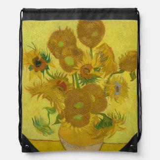 Girasoles de Vincent van Gogh Mochilas