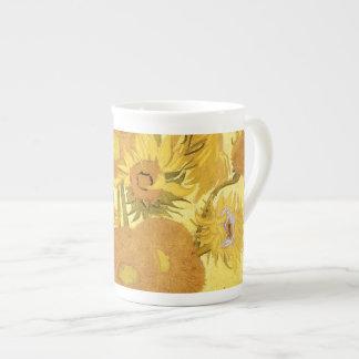 Girasoles de Vincent van Gogh Taza De Porcelana