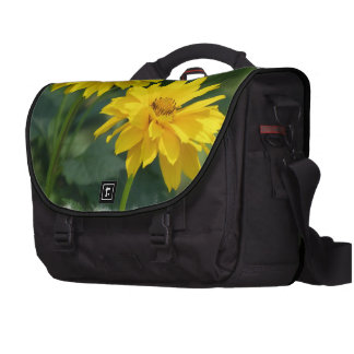 Girasoles falsos amarillos bolsas de portátil