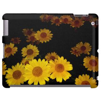 Girasoles florecientes funda para iPad