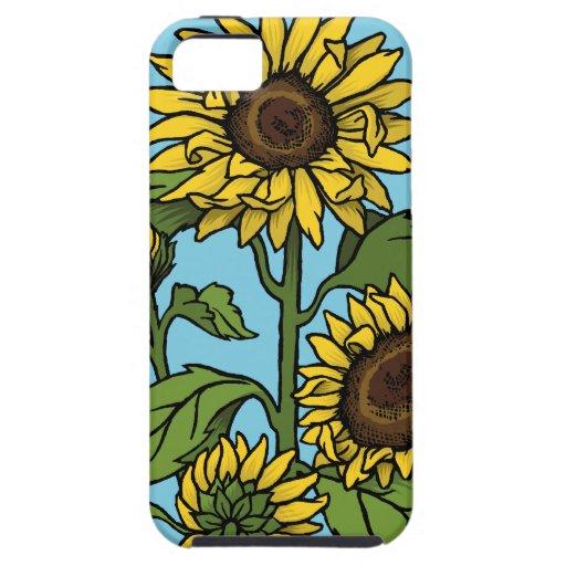 Girasoles iPhone 5 Carcasa