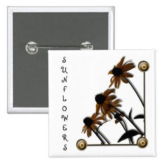 Girasoles: Kansas crecido Pin