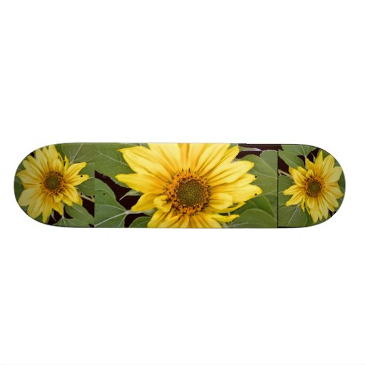 ¡Girasoles! Monopatín Skate Boards