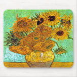 Girasoles Mousepad de Van Gogh doce Alfombrilla De Ratón