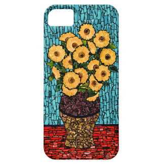 Girasoles para el caso del iPhone 5/5s de Van Gogh iPhone 5 Cárcasas