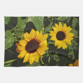 Girasoles pintados amarillo del verano
