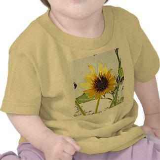 Girasoles salvajes camiseta