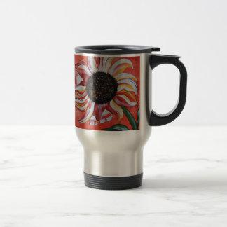 Girasoles salvajes taza de café