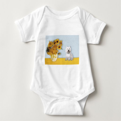 Girasoles - Westie 2 Camisetas