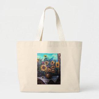 girasoli fantastici canvas bags