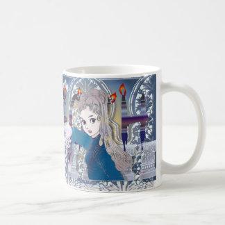 Girl02 gótico taza de café