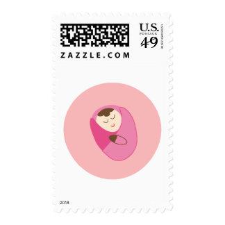 girl3 postage stamp