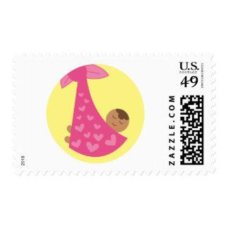 girl5 postage stamp