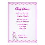 "Girl #1 Baby Shower Invitation 5"" X 7"" Invitation Card"