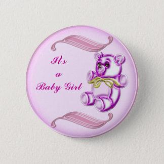 Girl #1 button