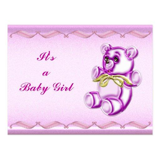 Girl #1 postcard