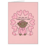 Girl 1st Valentines - African American Cards
