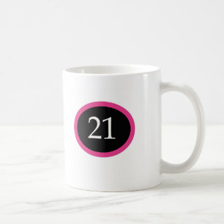 Girl 21 Happy 21st Birthday Coffee Mug