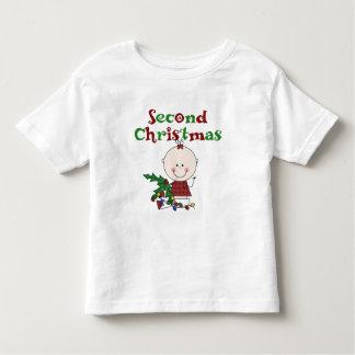 Girl 2nd Christmas Kids Baby Holidays Toddler T-shirt
