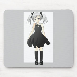 girl-309514  CUTE ANIME GOTH GOTHIC EMO STYLISH FA Mouse Pad