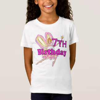 Girl 7th birthday fairy princess T-Shirt