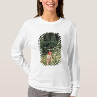 Girl among the wild flowers, 1880 T-Shirt
