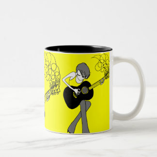 Girl and a Guitar Mug (M24)