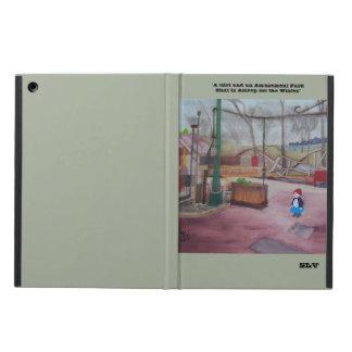 """Girl and Amusement Park..."" iPad Air Case"