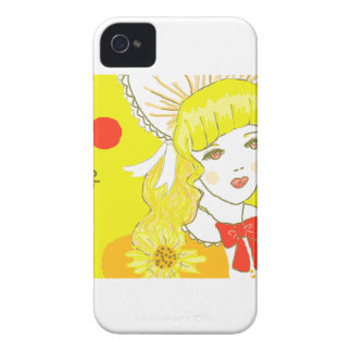 Girl and Buzzing Bee Blackberry Bold Covers