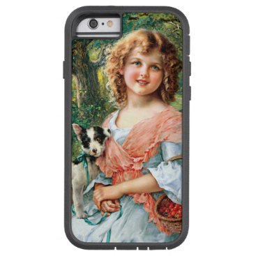 Girl and dog tough xtreme iPhone 6 case