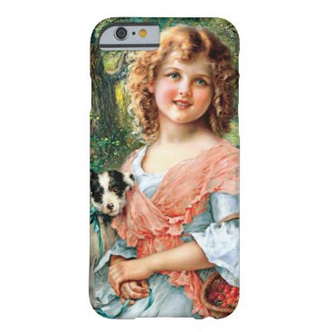 Girl and dog barely there iPhone 6 case