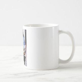 Girl and dog mugs