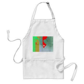 Girl and get away adult apron