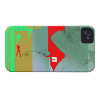 Girl and get away iPhone 4 cover