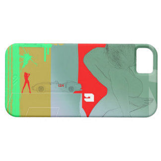 Girl and get away iPhone SE/5/5s case