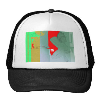 Girl and get away trucker hat