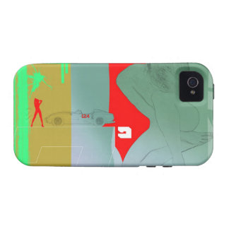 Girl and get away vibe iPhone 4 cover