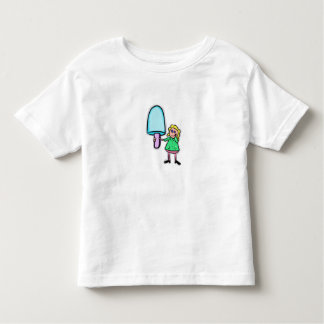 girl and lolly toddler t-shirt