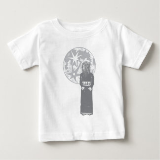 Girl and Moon Infant T-shirt