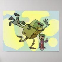robot, girl, nathan malone, nathan, malone, zekey spacey lizard, zekey, spacey, lizard, fololo311, childrens posters, artsprojekt, hoyden, electronic music, teiid, Junior (Röyksopp album), scincid lizard, single (music), night lizard, Röyksopp, scincid, Robyn, tchotchke, Kris Menace, tshatshke, 52nd Grammy Awards, tchotchkeleh, agamid, Pitchfork Media, agamid lizard, CSI: NY, may queen, edmund malone, queen of the may, soubrette, mill-girl, iguanid lizard, worm lizard, gamine, Cartaz/impressão com design gráfico personalizado