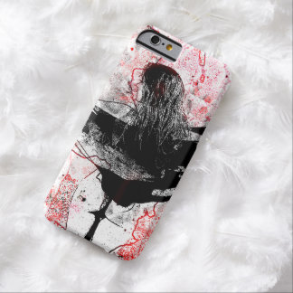 Girl and seahorse barely there iPhone 6 case