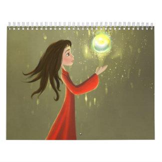 girl and the sun Calendar