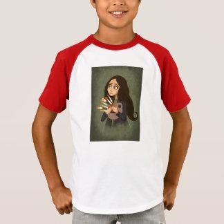 girl Artist Palet Tshirt