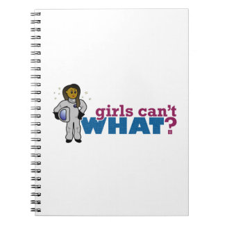 Girl Astronaut 2 Notebook