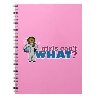 Girl Astronaut 2 Notebooks