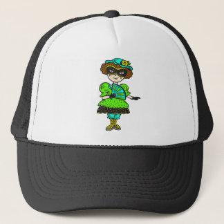 Girl At Masquerade Ball Trucker Hat