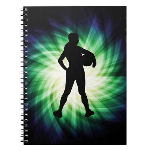 Girl Athlete; Cool Note Books