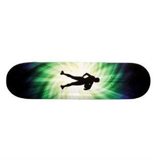 Girl Athlete; Cool Skateboard
