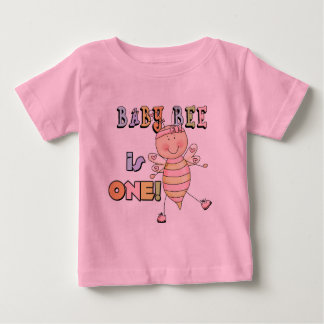 Girl Baby Bee 1st Birthday Tshirts and Gifts